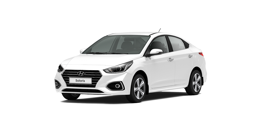 Hyundai Solaris Active Fleet, цвет Crystal White