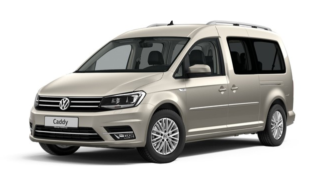 Volkswagen Caddy Highline, цвет Mojave Beige Metallic