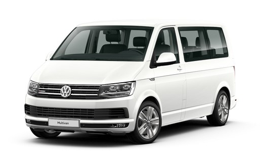"Volkswagen Multivan Highline, цвет Белый ""Candy"""