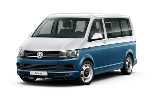 "Volkswagen California Beach, цвет Синий ""Acapulco"" / Серебристый ""Reflex"""