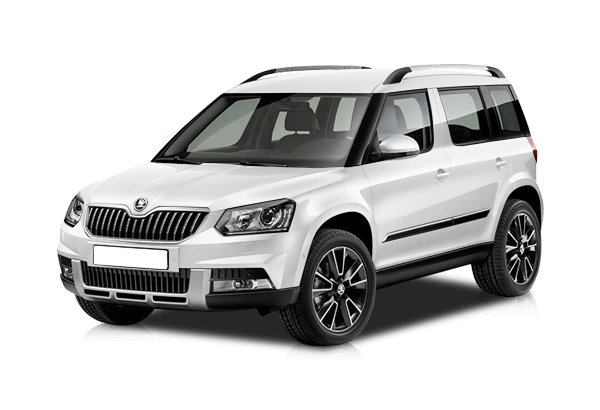 Skoda Yeti Ambition Outdoor, цвет Белый Pure White