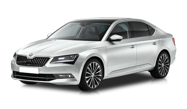Skoda Superb Laurin & Klement, цвет Белый Moon White