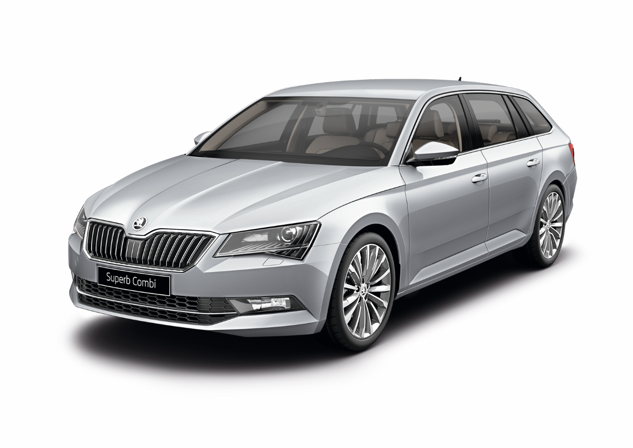Skoda Superb COMBI Laurin & Klement, цвет Серебристый Brilliant Silver